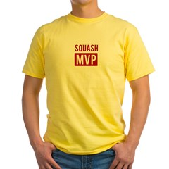 Squash MVP Yellow T-Shirt
