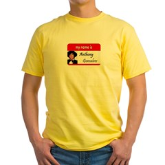 Anthony Gonsalves Yellow T-Shirt