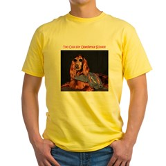 Irish Setter Stud - Yellow T-Shirt