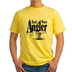 Hard Water Angler Yellow T-Shirt
