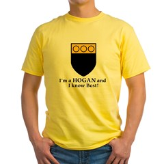 Hogan Yellow T-Shirt