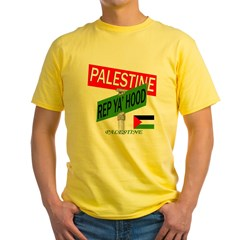 REP PALESTINE Yellow T-Shirt