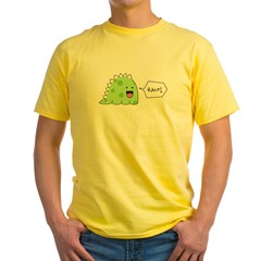 rawr.psd Yellow T-Shirt