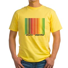 Gay Scan Yellow T-Shirt