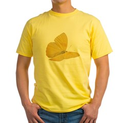 Yellow Butterfly Yellow T-Shirt