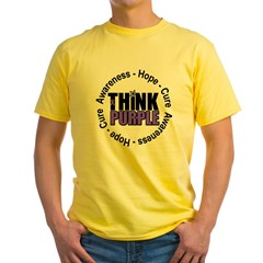 Think Purple Yellow T-Shirt