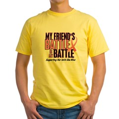 My Battle Too 1 (Friend BC) Yellow T-Shirt