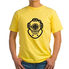 Diving Helme Yellow T-Shirt