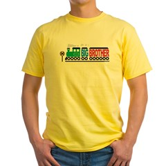 Big Brother Train Yellow T-Shirt