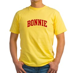 BONNIE (red) Yellow T-Shirt