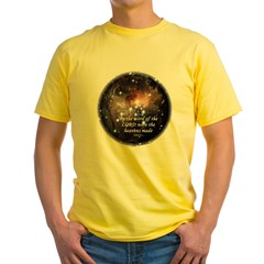 Psalm 33:6 Yellow T-Shirt