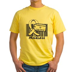Lung Cancer Cure Yellow T-Shirt