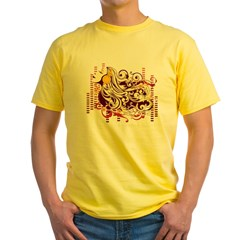 music girl Yellow T-Shirt