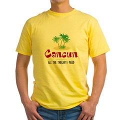 Cancun Therapy - Yellow T-Shirt