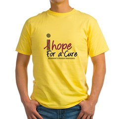 Alzheimer's Hope Yellow T-Shirt