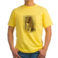 RoughCollie00002.jpg Yellow T-Shirt