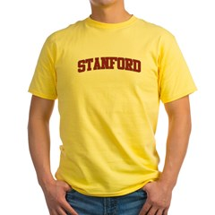 STANFORD Design Yellow T-Shirt