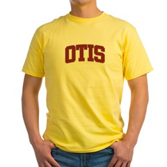 OTIS Design Yellow T-Shirt