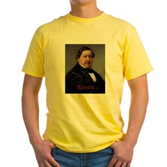 Rossini Yellow T-Shirt