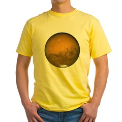 Mars Yellow T-Shirt