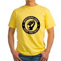 keep_the_faith Yellow T-Shirt