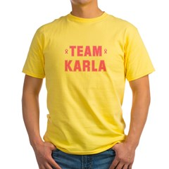 Team KARLA Yellow T-Shirt
