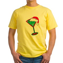 Christmastini Yellow T-Shirt