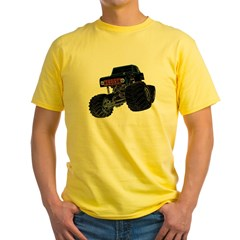 Monster Crawler II Yellow T-Shirt