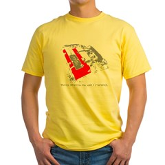 2liters copy Yellow T-Shirt