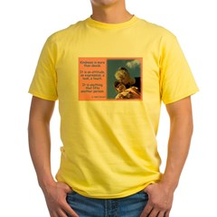 'Kindness Lifts' Yellow T-Shirt
