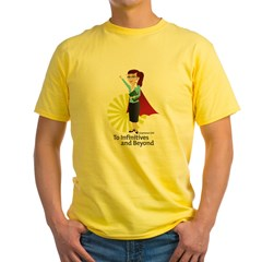Grammar Girl To Infinitives Yellow T-Shirt