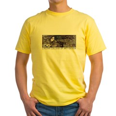 LCAD 2008 Student Designed Yellow T-Shirt