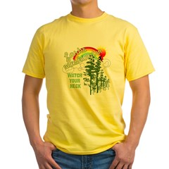 Forks Washington Twilight Yellow T-Shirt