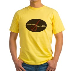 Paddle Faster, You're In Elli Organic Cotton Tee Yellow T-Shirt
