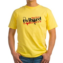 Twihard Yellow T-Shirt