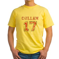 cullen-ver-6 Yellow T-Shirt