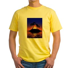 sunrise-sunset--palm-tree-s.jpg Yellow T-Shirt
