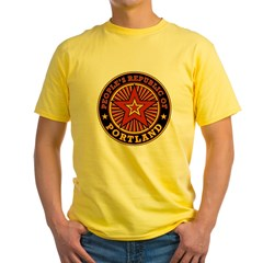 People's Republic of Portland Yellow T-Shirt
