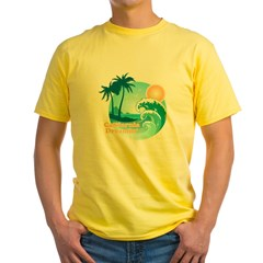 California Dreamin' Yellow T-Shirt