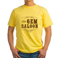 The Gem Saloon Yellow T-Shirt
