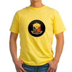 Coat of Arms of philippines Yellow T-Shirt