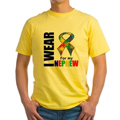 Autism Nephew Yellow T-Shirt