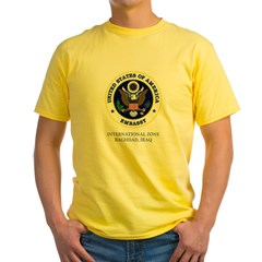 US Embassy - Baghdad Two Sided Yellow T-Shirt