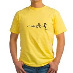 I tri copy.jpg Yellow T-Shirt