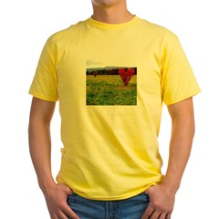 heartsonfire.jpg Yellow T-Shirt