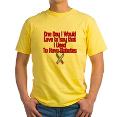 usedselfdark Yellow T-Shirt
