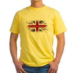 british_dark Yellow T-Shirt