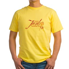 Team Jacob he's ho Yellow T-Shirt