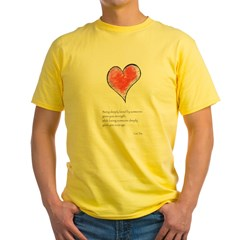 Love Deeply Yellow T-Shirt
