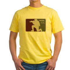 Infidel Operator Mod 0 (Original) Yellow T-Shirt